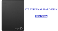 1TB EXTERNAL HARD DISK