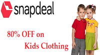 80% OFF on Kids Clothing