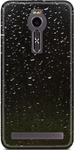 Black Plastic Back Cover For Asus Zenfone 2