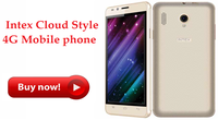 Intex Cloud Style 4G Mobile phone