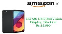LG Q6 (189 FullVision Display, Black)