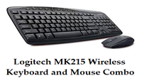 Logitech MK215 Wireless Keyboard and Mouse Combo