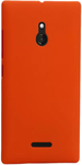 Orange Back Cover For Nokia XL