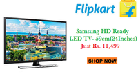 Samsung (24 inch) HD Ready LED TV