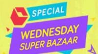 Snapdeal Wednesday Special Super Bazaar