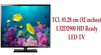 TCL 81.28 cm (32 inches) L32D2900 HD Ready LED TV