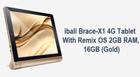 Tata Cliq Offer on iball Brace-X1 4G Tablet 2GB RAM (Gold)
