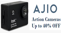 Up to 40% OFF on Action Cameras