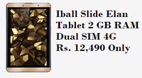 iBall Tablet 2 GB RAM, Dual SIM