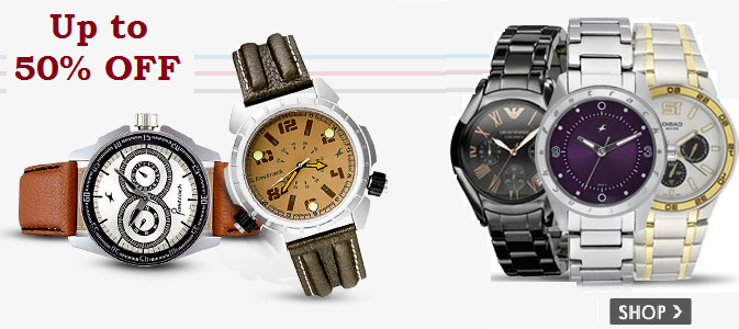 Amazon Offers On Watches Up To 50 Off