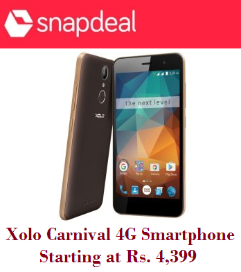 89da90b5f77 Xolo Carnival 4G Smartphone-Starting at Rs.4