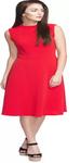 A-Line Red Dress