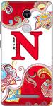 Alpha Print Back Cover For Xiaomi Redmi Note 3