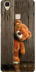 Amez Teddy Back Cover for Vivo V3