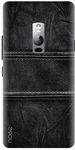 Black Back Cover for OnePlus 2