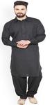 Black Kurta Pajama Punjabi Style