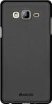 Black Rubber Back Cover For Samsung On7