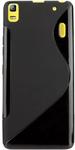 Black Rubber Case Cover for Lenovo K3 Note