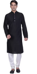 Black Straight Kurta