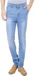 Blue Denim Washed Jeans