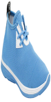Blue Fabric Laceup Sports Shoe