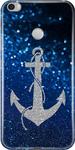 Blue Sparkle Print Back Cover For Xiaomi Redmi Max