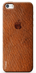 Brown Designer Back Cover for iPhone 5s