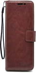 Brown Leather Wallet Case Cover For Xiaomi Redmi Note 3