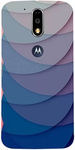 Casotec Printed Back Cover For Moto G4 Plus