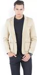 Cream Full Sleeves Jacket