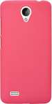 Dark Pink Plain Back Cover for Vivo Y21L