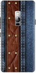 Denim Printed Back Cover for OnePlus 2