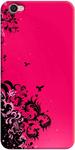 Fantasy Pink Back Cover for Vivo Y55L