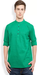 Green Straight Kurta