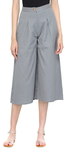 Grey Cotton Capris