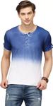 Henley Blue T-shirt
