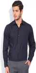 John Players Men's Solid Formal Shirt