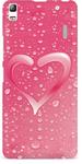 Light Pink Back Cover for Lenovo A7000