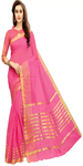 Manipuri Cotton Pink Saree