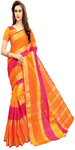 Manipuri Cotton Polyester Blend Saree