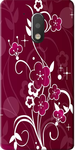 Maroon Print Back Cover For Moto G4 Plus