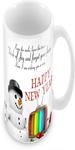 New Year Ceramic Mug