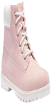 Pink Leatherette Boots