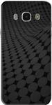 Plain Black Case Cover for Samsung J7