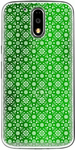 Printed Green Back Cover For Moto G4 Plus