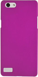 Purple Plastic Plain Back Cover For Oppo Neo 7