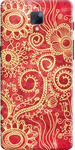 Red Print Back Cover for OnePlus 3