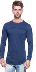 Round Neck Dark Blue T-shirt