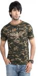 Round Neck Green T-shirt
