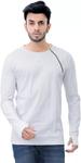 Round Neck White T-Shirt